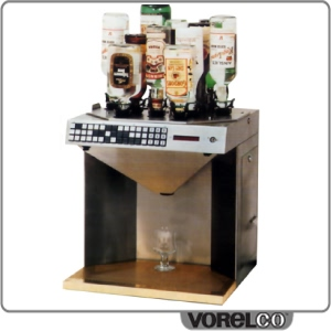 First automated bar beverage dispensing and mixing technology
