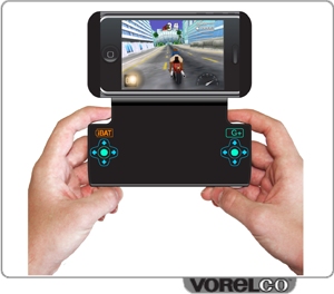 iphone/ipad/cell gaming pad